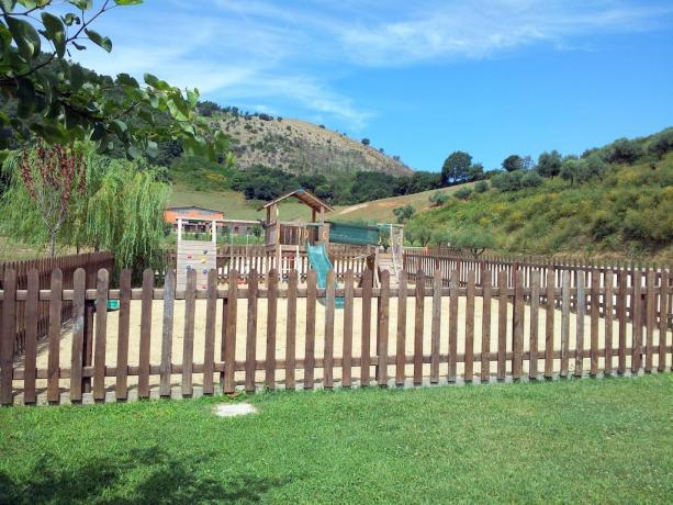 Parchetto giochi -  Agriturismo nel Lazio