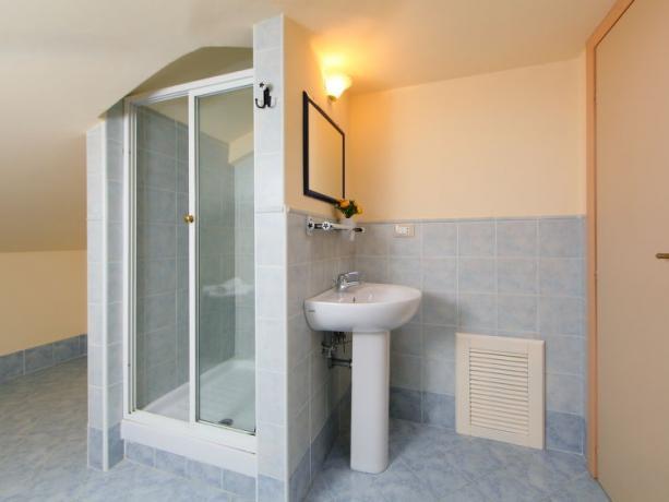 Bagno Privato nella Villa Vacanze in Umbria