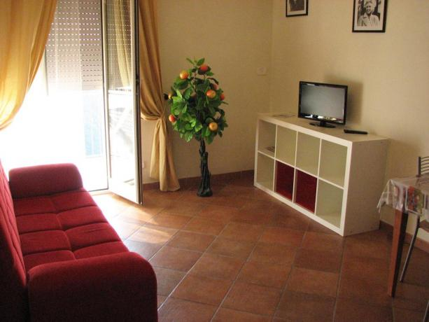 Soggiorno appartamento residence Ronciglione