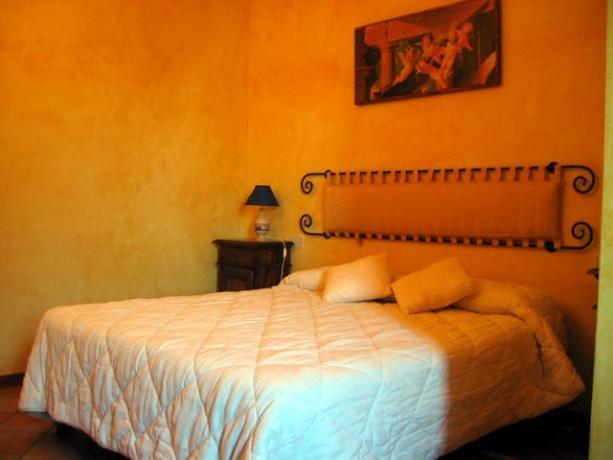Camera da letto romantica in appartamento