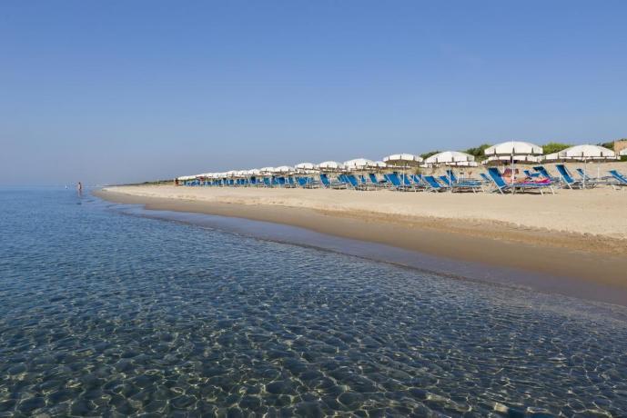 Villaggio con spiaggia Privata a Castellaneta Marina