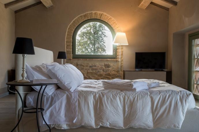 Suite con idromassaggio in Villa al Trasimeno