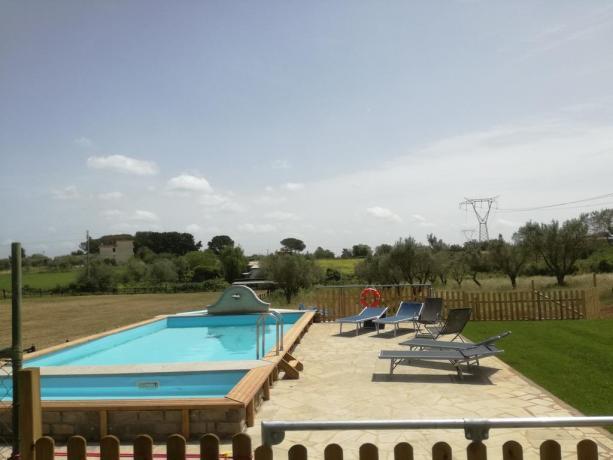 Agriturismo nel Lazio con piscina e jacuzi