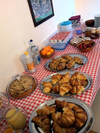 Colazione prodotti genuini a buffet Assisi