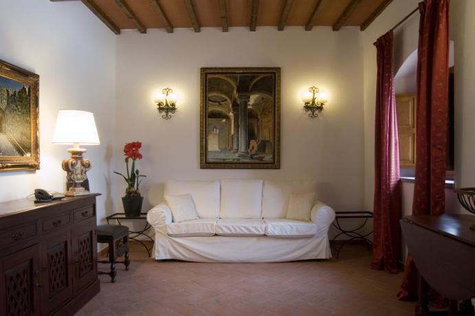 Soggiorno appartamento Duccio