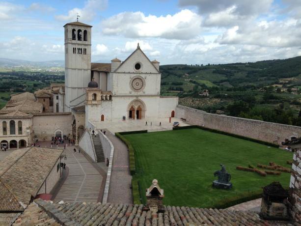 Dormire a due passi dalla Basilica di Assisi