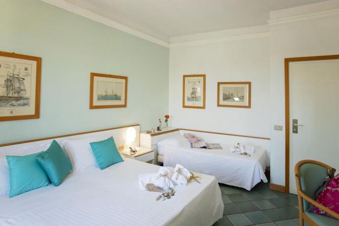 Camera per famiglie hotel4stelle vicino al mare Grosseto