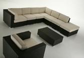divano componibile da esterno, salotto da esterno