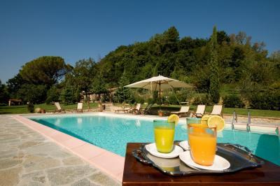 Villa con piscina attrezzata in Toscana