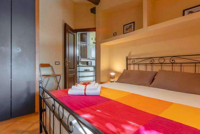 Camera matrimoniale con bagno privato Montebuono-Rieti
