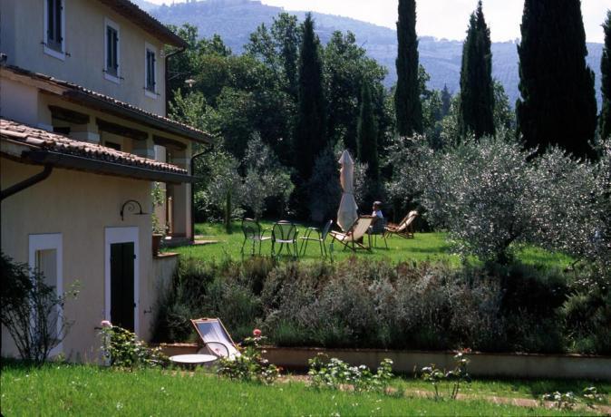 Appartamenti Umbro con giardino e vista panoramica