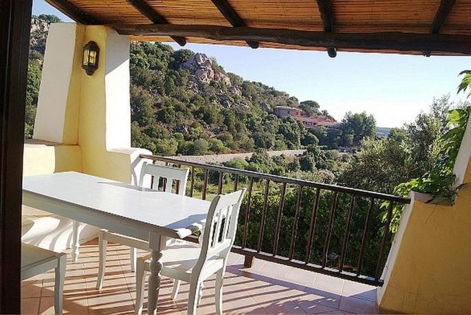 Terrazza residence con vista panoramica ad Arzachena