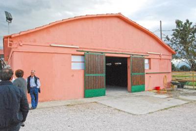 ingresso scuderia disponibile pensione per cavalli