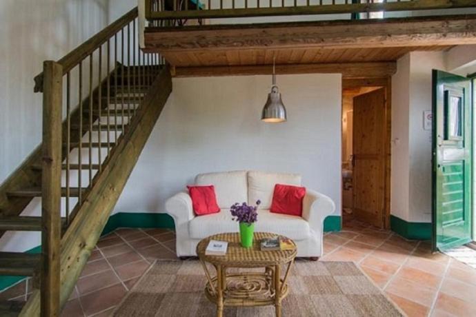 Soggiorno Appartamento suite nelle valli delle Marche