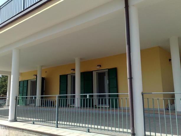 Terrazze e Solarium al B&B Petrosa, Castrovillari