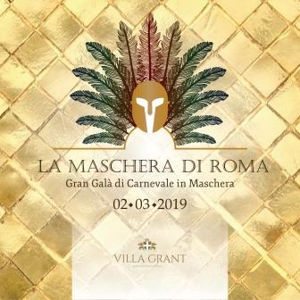 La Maschera di Roma a Villa Grant