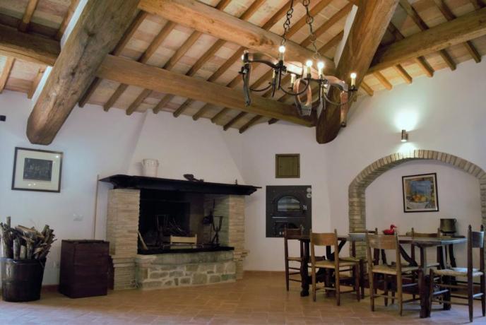 Dependance castello medievale Gualdo Cattaneo