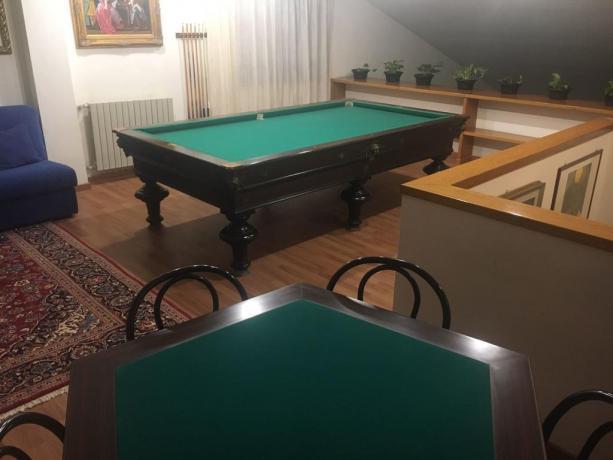 Villa vacanze con biliardo 10persone Umbria-Perugia