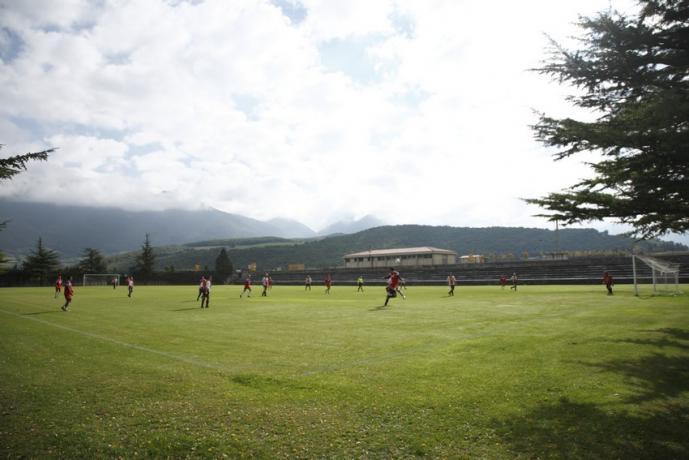 Albergo per ritiri squadre di calcio