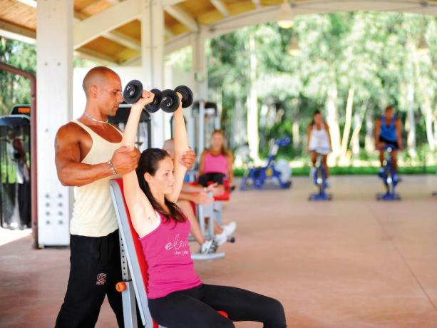 Area Fitness con esperti e professionisti in Assistenza