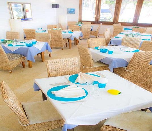 Sala ristorante Hotel vicino alle Terme Luigiane