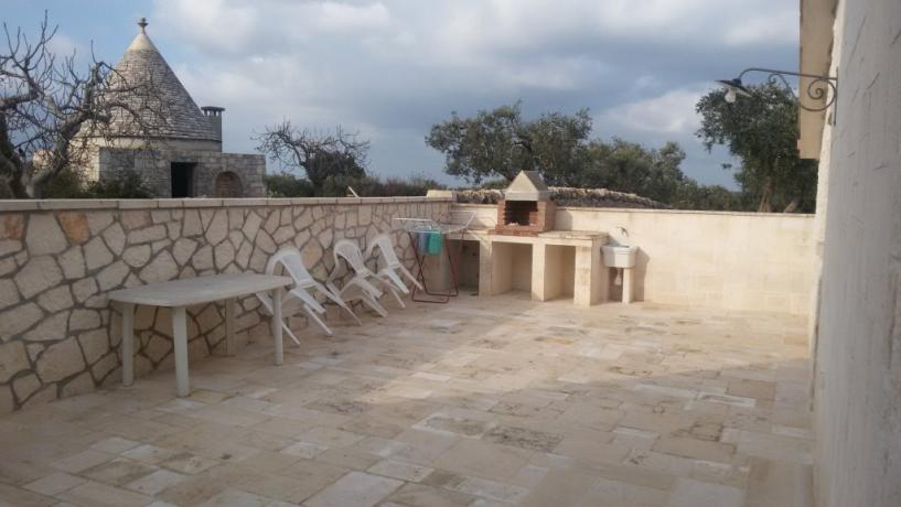 Casa in Pietra Serri, solarium, barbecue, alberobello
