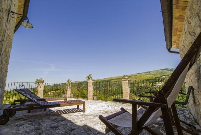Abbateggio, Camera con Terrazzo Panoramico sulla Majella