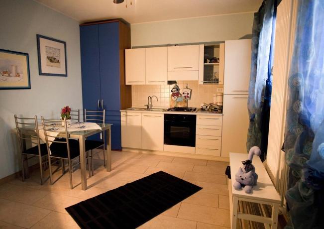 Appartamento con cucina arredo nuovo