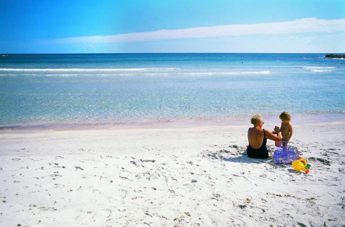 Spiaggia di Cala Liberotto ideale per bambini