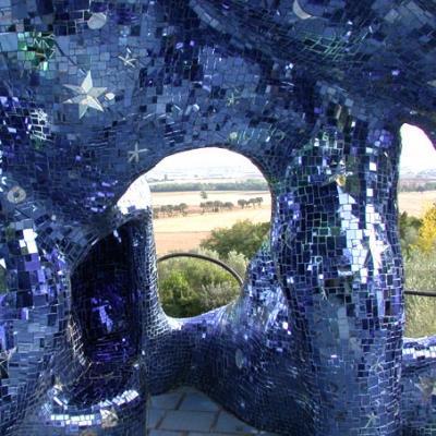 Tarots, Mosaic art with glass of Murano