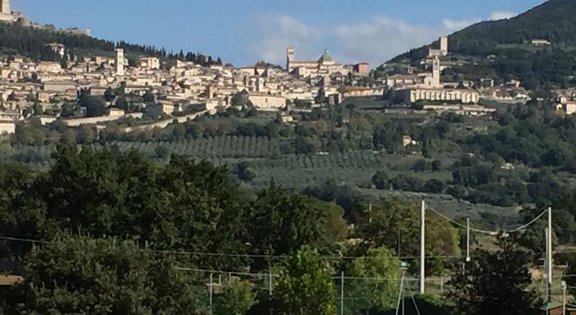 Assisi, vista dalla Suite del Teatro