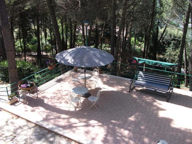 Relax in giardino B&B vicino Perugia Stadio