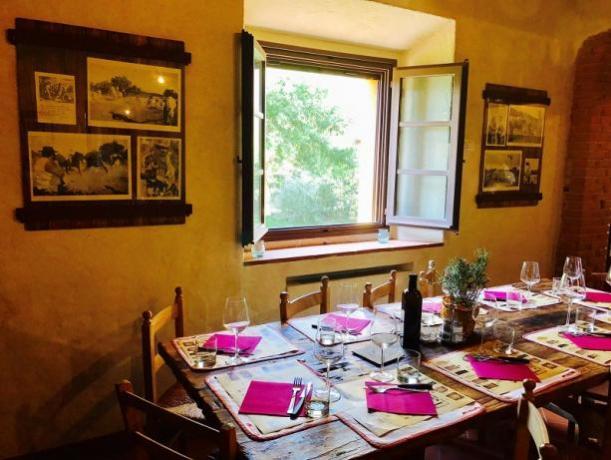 Ristorante, cucina toscana, residence con appartamenti vacanza
