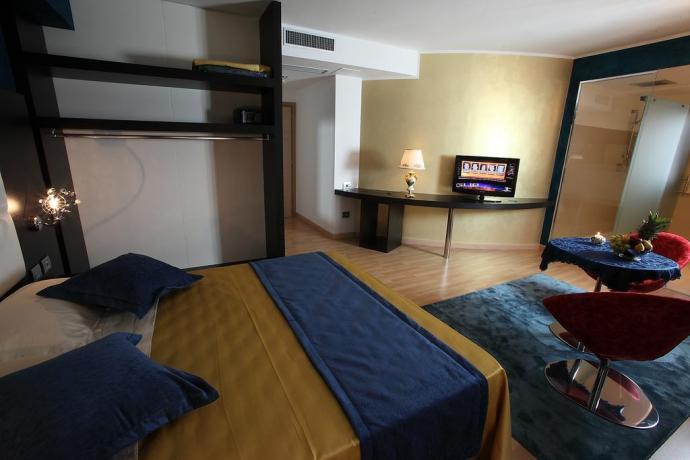 Suite Romantica albergo a Diamante