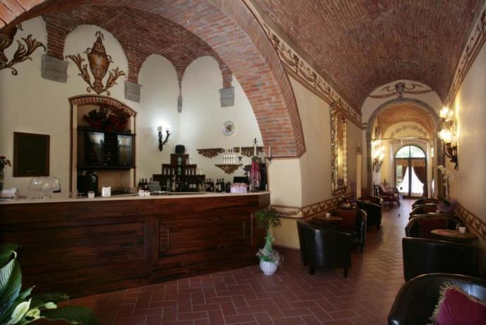 Villa vacanze Arezzo sala bar