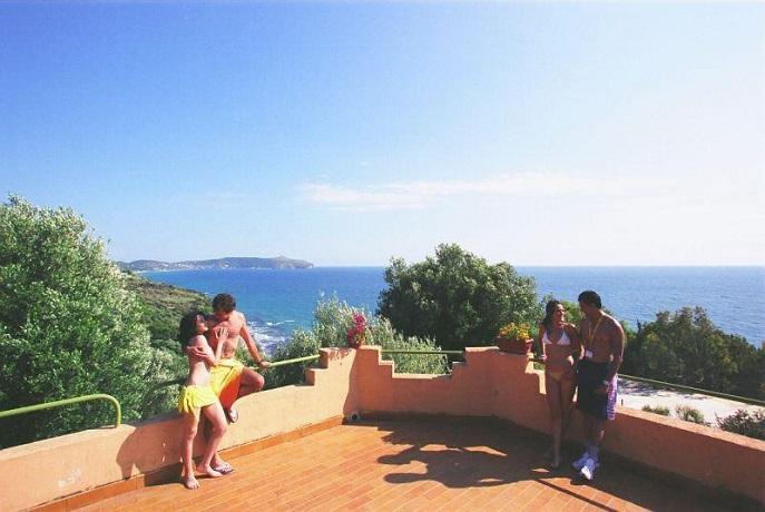 Cottage vista mare a Pisciotta di Palinuro