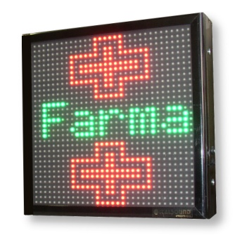 Vendita Croci e Pannelli a LED per Farmacie