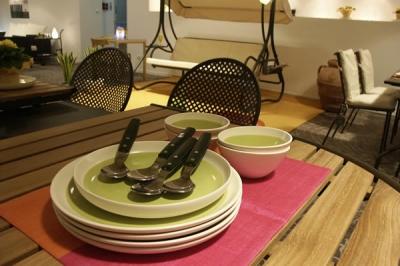 Mobili da giardino in Umbria, mobili da giardino EMU in legno e Ferro ...