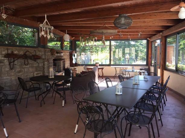 Sala comune casale per gruppi Assisi