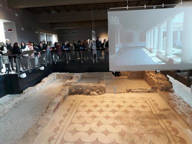 Villa dei Mosaici Spello Resti archeologici