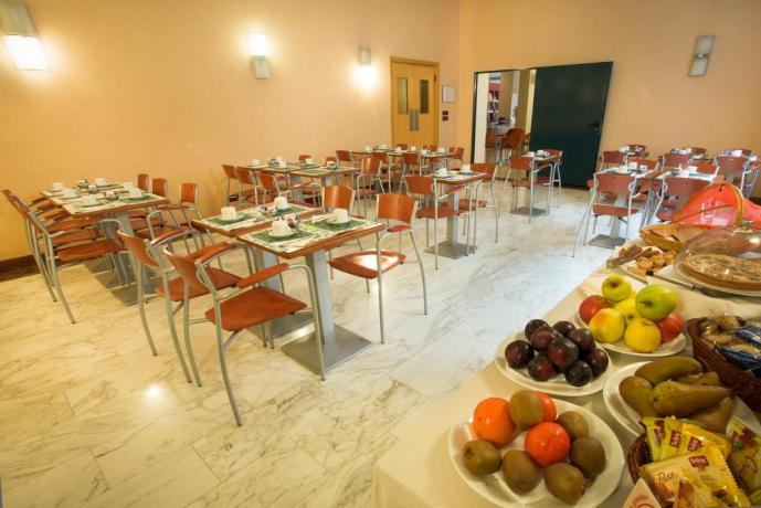 Prima colazione a buffet, Albergo a Torino