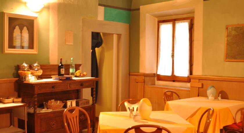 Sala Colazione Hotel Romantico Arezzo