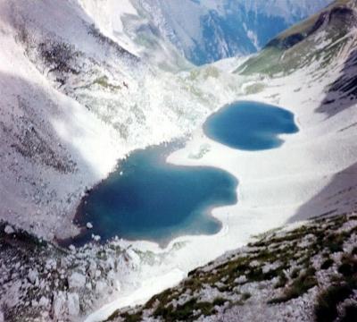 I laghi di Pilato sul monte Vettore