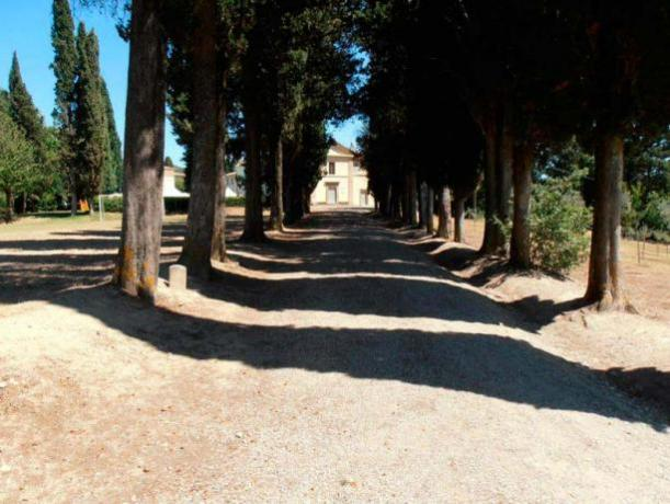 Villa storica in Umbria con parcheggio