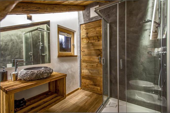 appartamento con bagno vicino piste sciistiche Bolzano