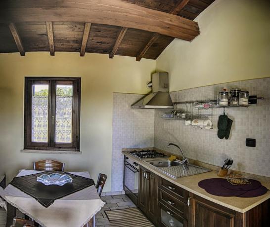 Appartamenti con cucina Lago di Piediluco