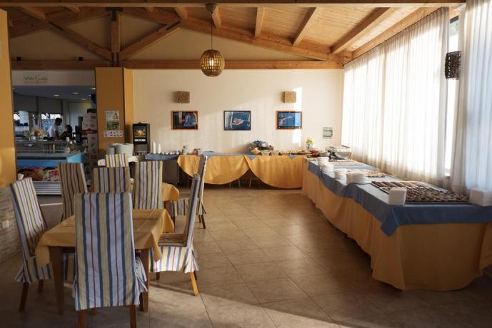 Ristorante a buffet celiaci hotel a Capo-Piccolo