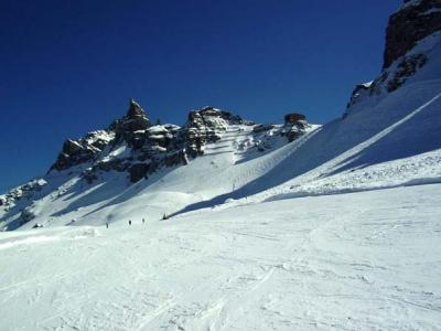 Inexpensive accommodations near the skislopes of Arabba