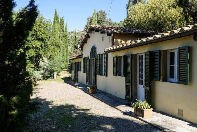 Appartamenti in Villa di lusso Cortona