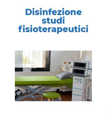 Sanificazione e Disinfezione Certificata COVID-19: STUDIO-FISIOTERAPIA Roma